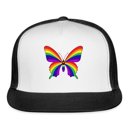 Rainbow Butterfly - Trucker Cap