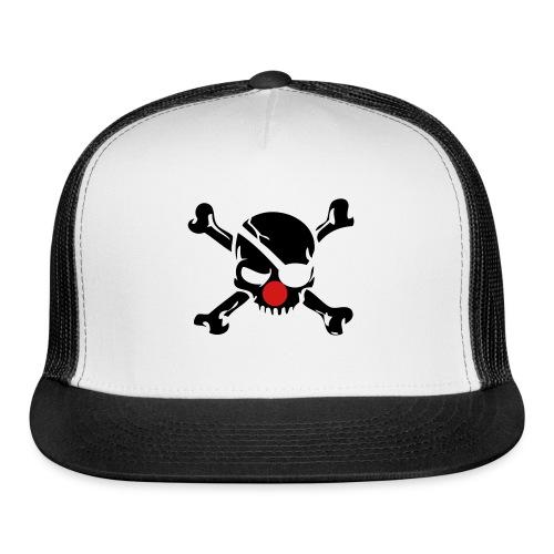 Clown Jolly Roger Pirate - Trucker Cap