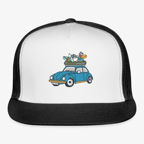 Gone Fishin' - Trucker Cap