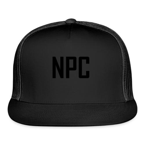 N P C letters logo - Trucker Cap