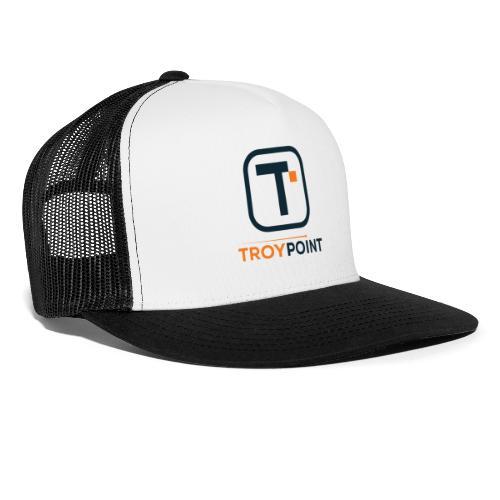 TROYPOINT Navy Logo - Trucker Cap