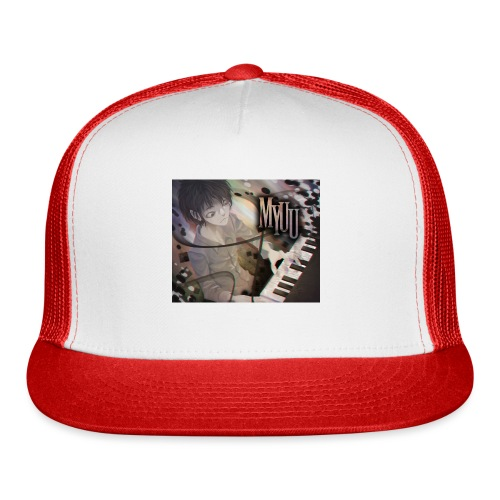 Dark Piano 1 - Trucker Cap