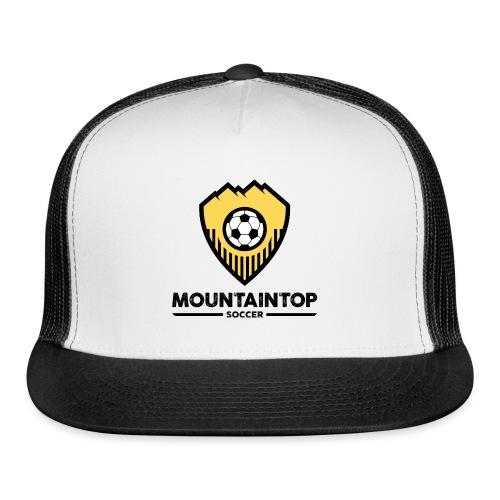 Mountaintop Soccer Association Logo - Trucker Cap