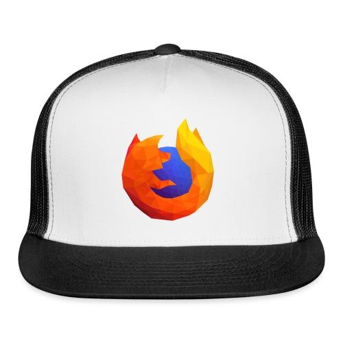 Firefox Reality Logo - Trucker Cap