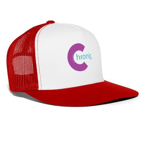 Houston Chronic - Purp C - Trucker Cap