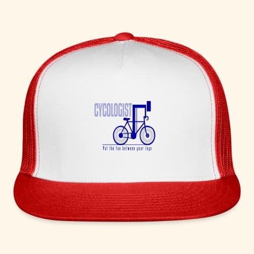 Cycologist T Shirt for Men, Women, Kids, Babies - Trucker Cap