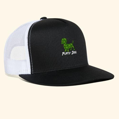 PUFFY DOG - PRESENT FOR SMOKING DOGLOVER - Trucker Cap