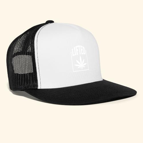 LIFTED T-SHIRT FOR MEN AND WOMEN - CANNABISLEAF - Trucker Cap