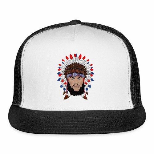 Dane Calloway American Indian Logo - Trucker Cap
