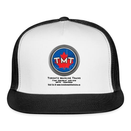 TMT Black Letters Version2 - Trucker Cap