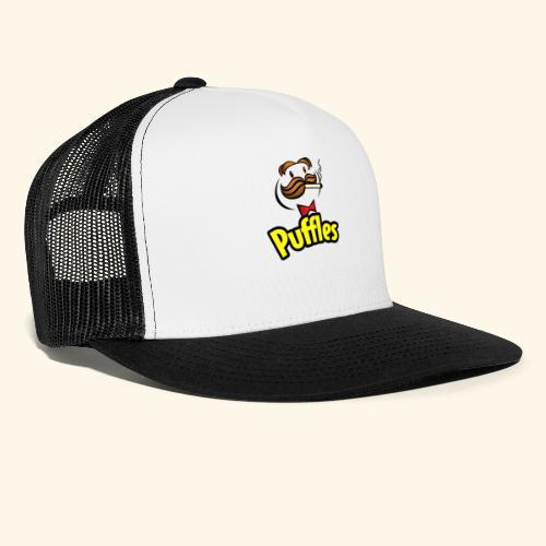 Puffles - Smoking Man - Trucker Cap
