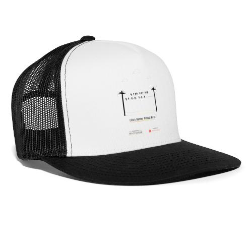 Life's better without wires: Birds - SELF - Trucker Cap