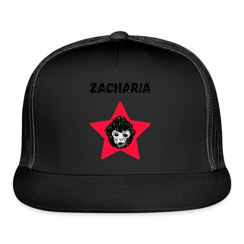 transparaent background Zacharia - Trucker Cap