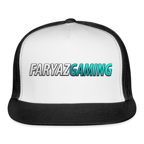 FaryazGaming Theme Text - Trucker Cap