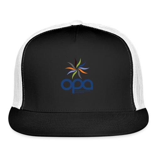 Short-sleeve t-shirt with full color OPA logo - Trucker Cap