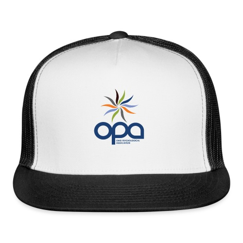 Short-sleeve t-shirt with full color OPA logo - Trucker Cap