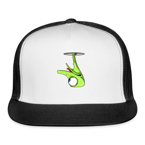 Funny Green Ostrich - Trucker Cap