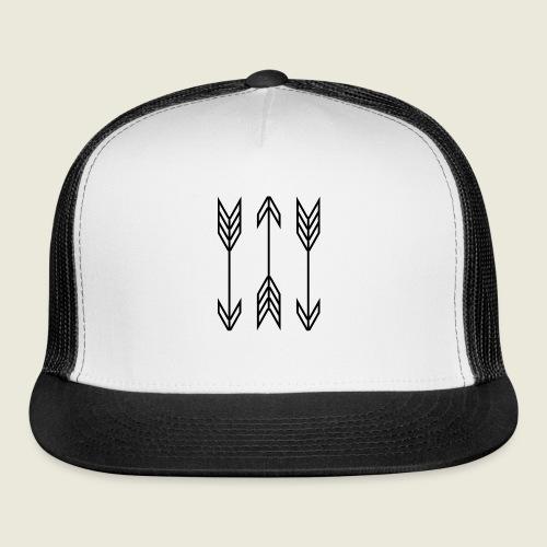 arrow symbols - Trucker Cap