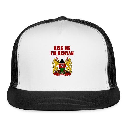 Kiss Me, I'm Kenyan - Trucker Cap
