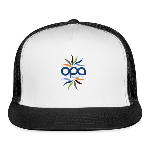 iPhone case with full color OPA logo - Trucker Cap