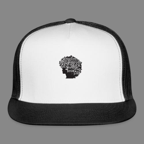 Afro Text II - Trucker Cap