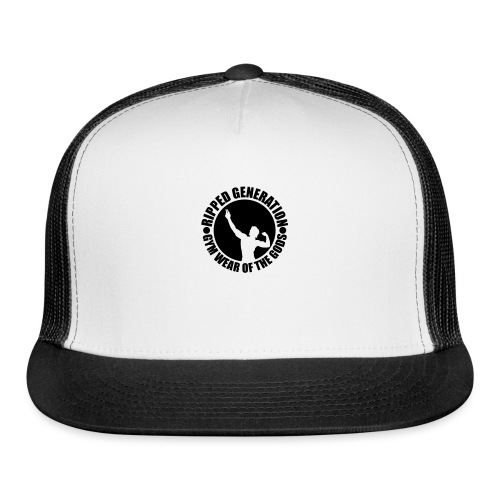 Ripped Generation Gym Wear of the Gods Badge Logo - Trucker Cap