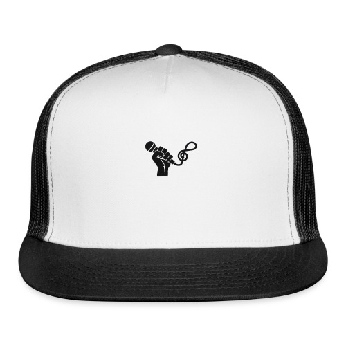 music microphone fist - Trucker Cap