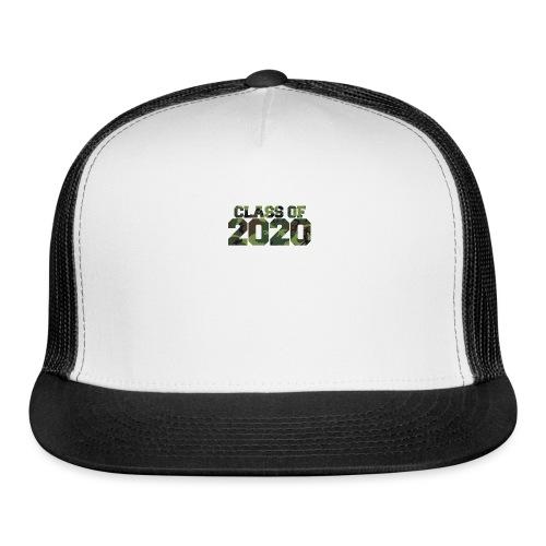 Class of 2020 Camo grad logo - Trucker Cap