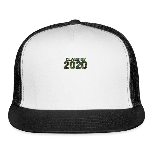 Class of 2020 Camo grad logo
