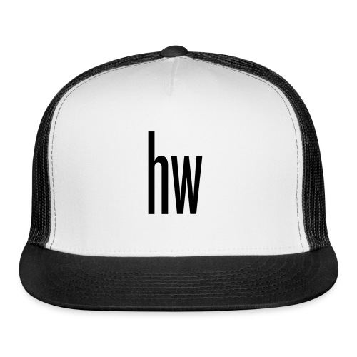 hw logo (Organic) - Trucker Cap