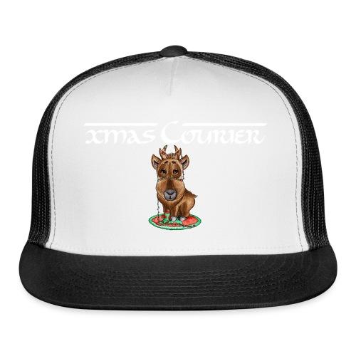 reindeer refined scribble - Trucker Cap