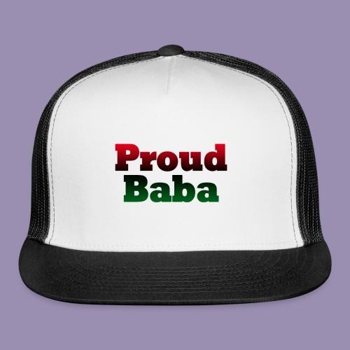 Proud Baba-RBG - Trucker Cap