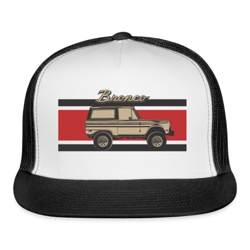 Bronco Truck Billet Design Men's T-Shirt - Trucker Cap