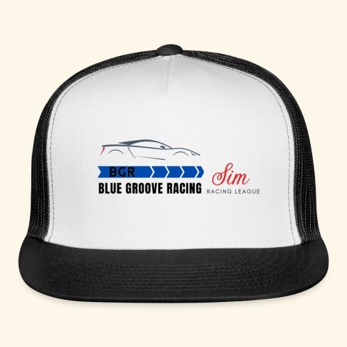 Blue Groove Racing SRL Black - Trucker Cap
