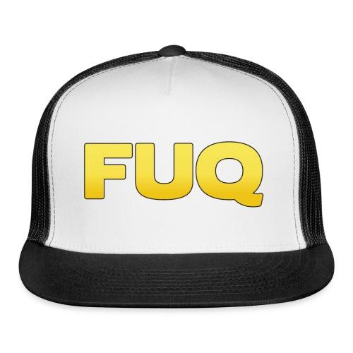 FUQ_SP_logo(border) - Trucker Cap