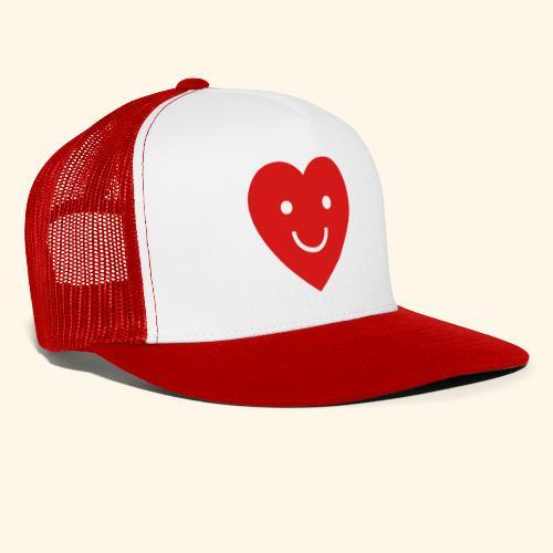 smiling heart - Trucker Cap