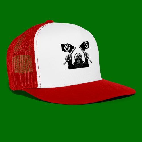 anarchy and peace - Trucker Cap