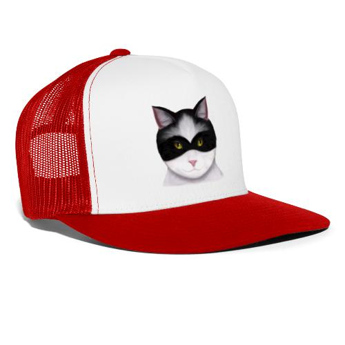 I am called the Masked Cat - Trucker Cap