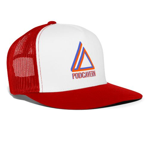 PodCavern Logo - Trucker Cap