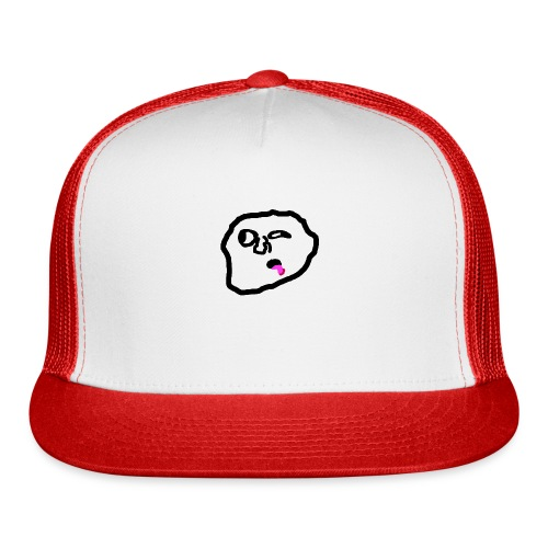 Something On Your Face - Trucker Cap