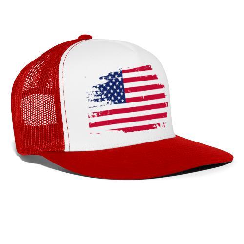 usa america american flag - Trucker Cap