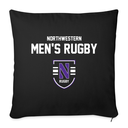 Northwestern Rugby Logotype 2 - Throw Pillow Cover