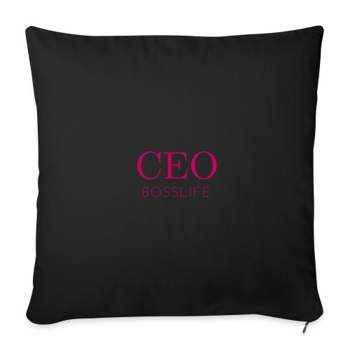 Bosslife CEO - Throw Pillow Cover
