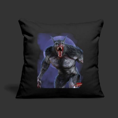 "Werewolf By Moonlight 2 - Throw Pillow Cover 17.5"" x 17.5"""