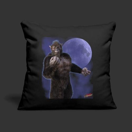"Undead Angels By Moonlight: Wolf Beast - Throw Pillow Cover 17.5"" x 17.5"""