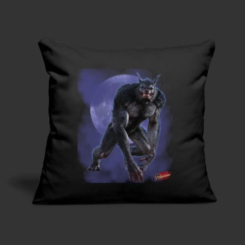"Werewolf By Moonlight - Throw Pillow Cover 17.5"" x 17.5"""