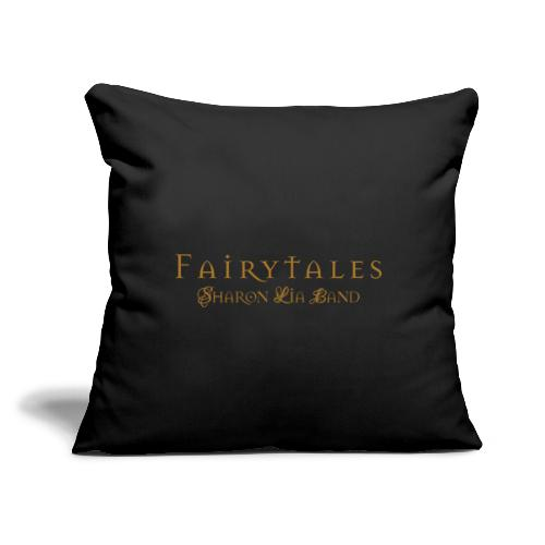 "Fairy Tales Official Logo - Throw Pillow Cover 17.5"" x 17.5"""