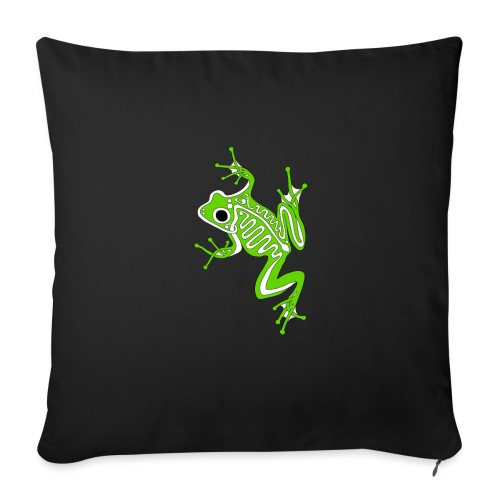 "Anglo-Saxon Frog - Throw Pillow Cover 17.5"" x 17.5"""