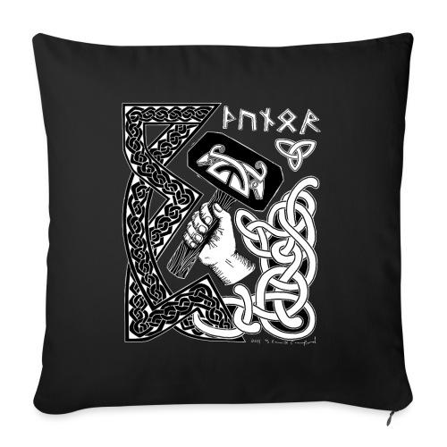 "Thunor - Throw Pillow Cover 17.5"" x 17.5"""