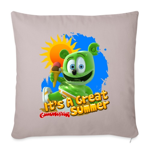 """It's A Great Summer - Throw Pillow Cover 17.5"""" x 17.5"""""""